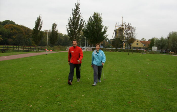 Nordic walking voor mensen met Parkinson