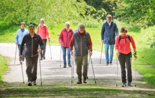Nieuwe lessen Nordic Walking