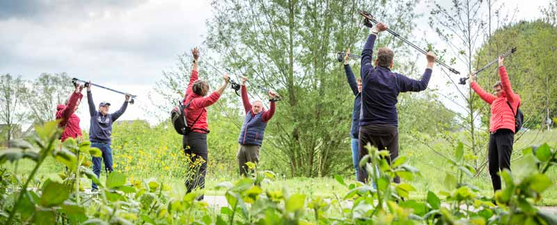 Nordic walking parkinson
